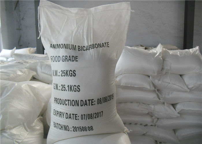 99% Food Grade Cleaning Chemicals Ammonium Carbonate White Crystals Cas 1066 -33 -7